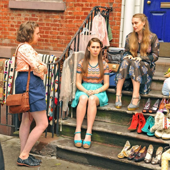 'Girls' TV programme filming in New York, America - 25 May 2012