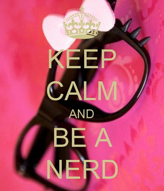 Mantén la calma y se nerd