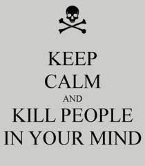 Mantén la calma y mata gente con tu mente