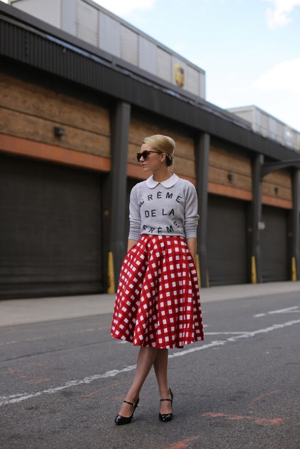 Outfit muy preppy