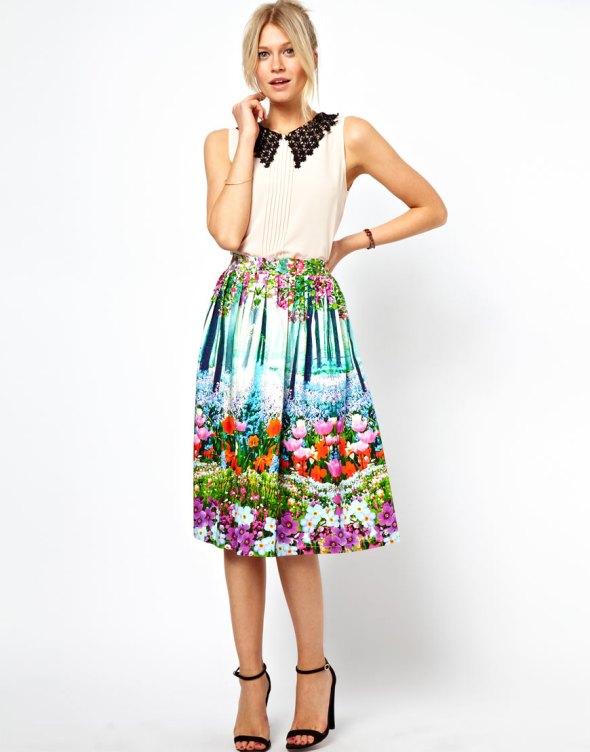 Una preciosa falda de Asos