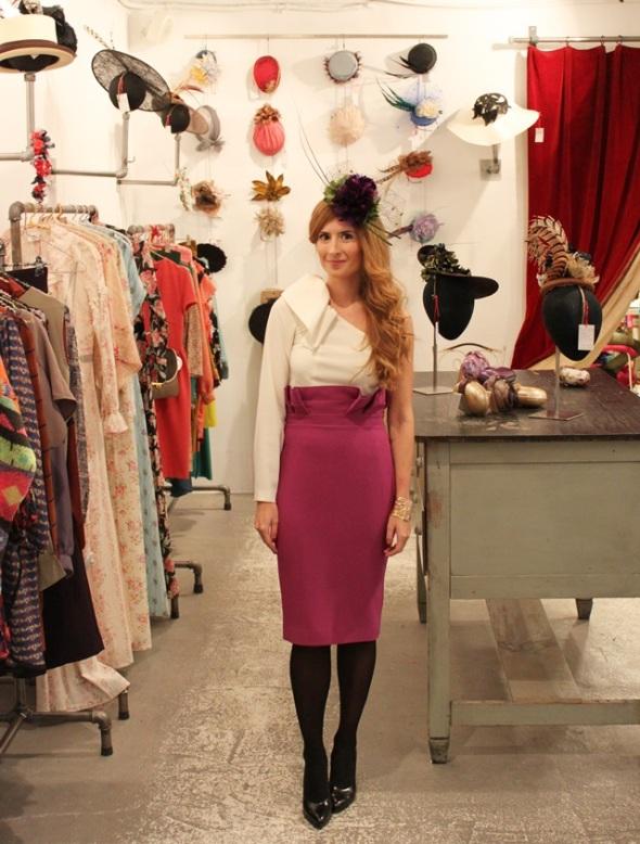 """Rebeca del blog """"A trendy life"""""""