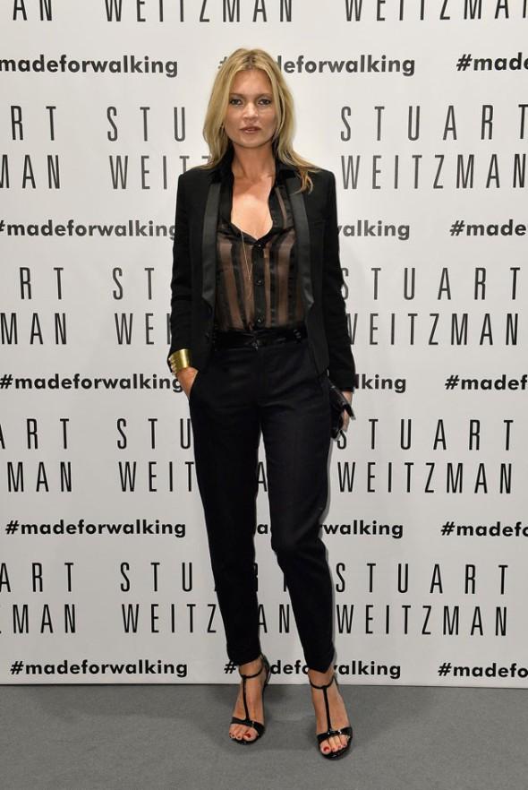 Kate Moss y su versión del sastre masculino
