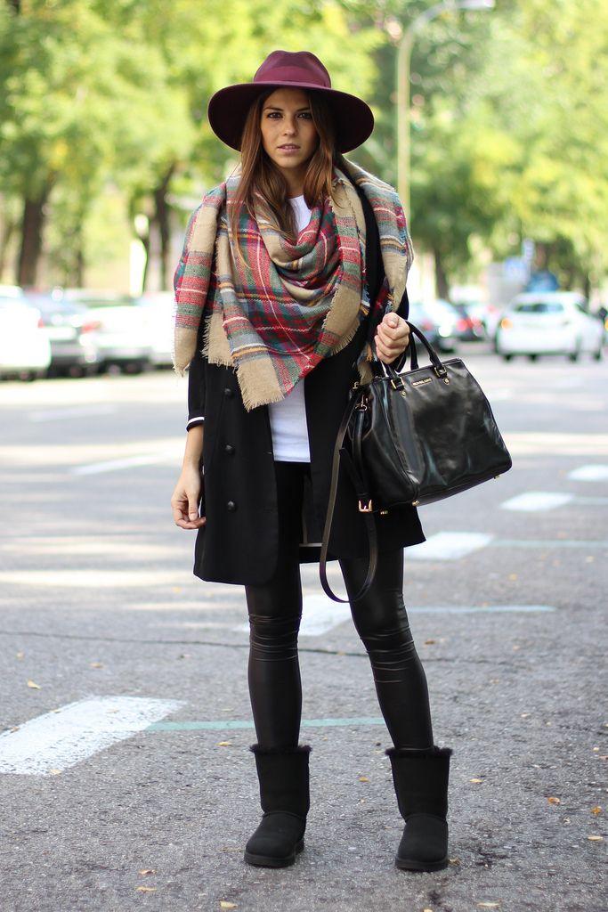 diferentemente 81ec6 fe549 El must have del invierno: la bufanda XL | Chic & Free