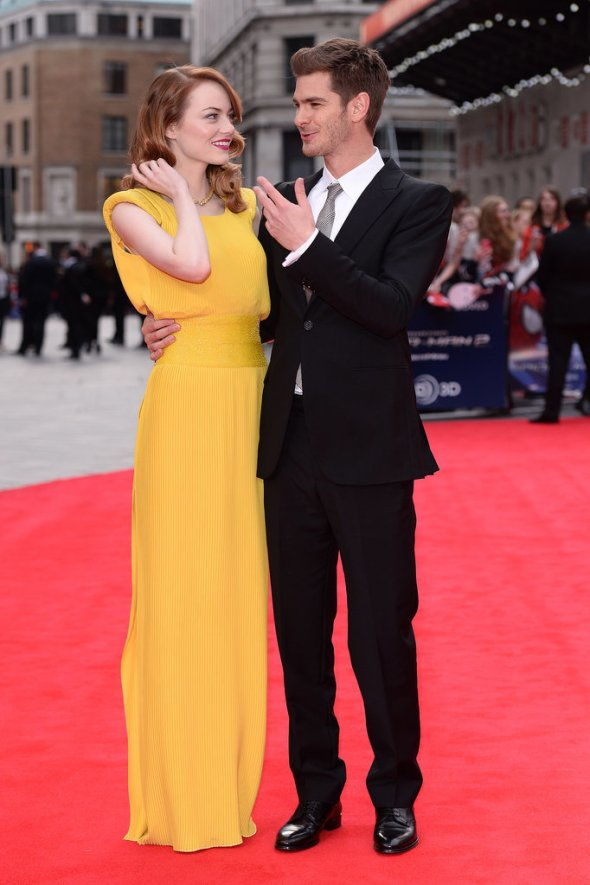 duo-had-cute-moment-Amazing-Spider-Man-2-London-premiere
